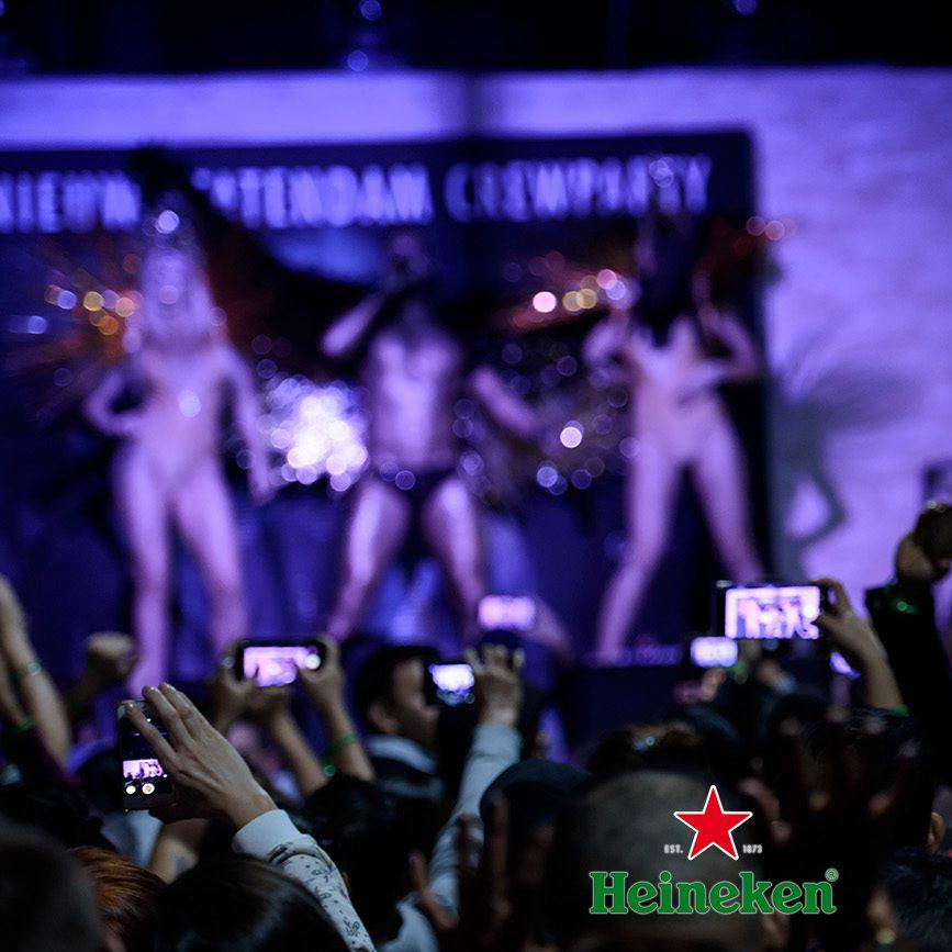 Heineken - Crew party